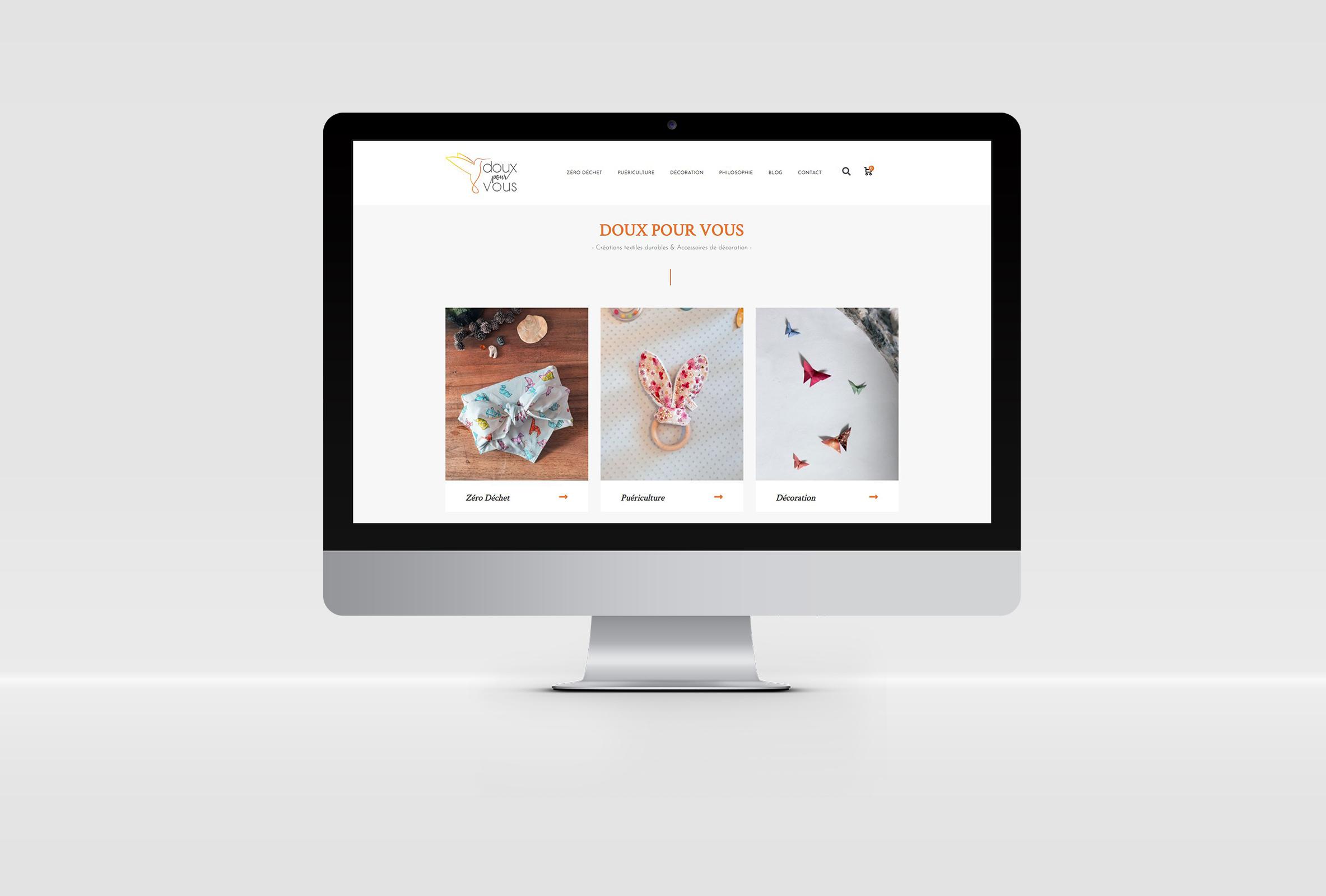 Création d'identité visuelle Print et Web